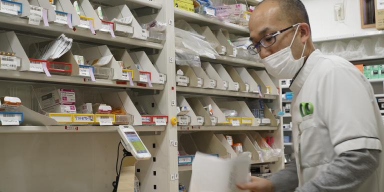 てしがわら薬局 代表取締役・管理薬剤師 勅使河原 等 写真2